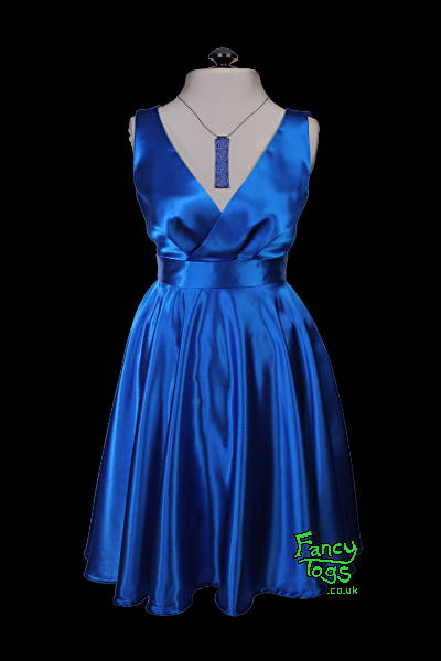 Made to Measure Blue Party Dress